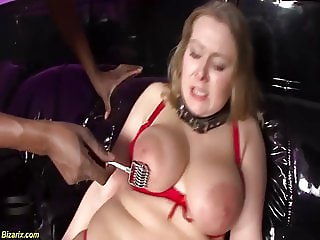 busty chubby milfs first interracial fetish lesson