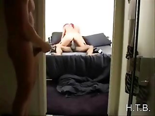cuckold watching.   H.T.B.