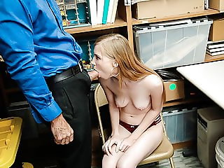 ShopLyfter - Cute Teen Caught Stealing Blows LP Officer