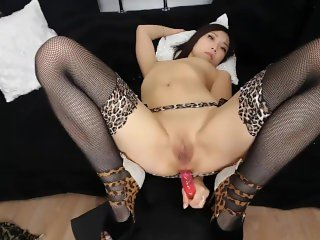 Amazing long dildo anal ATM Cam whore
