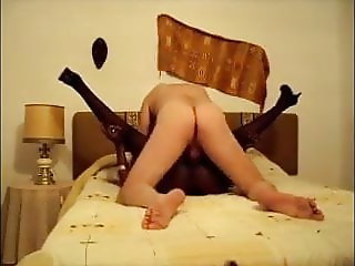 ebony mature fucked with legs up