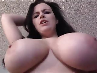 Mom with gigantic boobs takes control