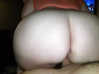 Big ass Bounce on Big Dick