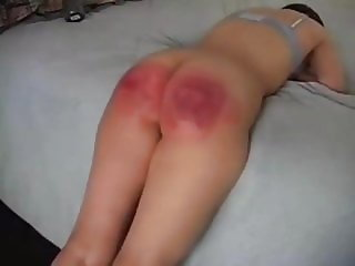 Strapping the slut