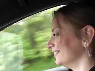 public BJ with hot czech girl