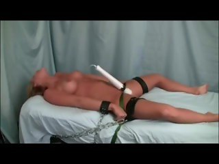 Tied and Tormented With the Vibrator