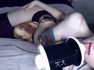 AftynRose - Slave Leia Licking Her Way to Freedom