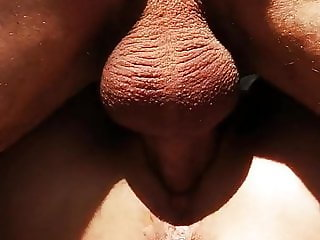Stranger fuck and creampie her outdoor