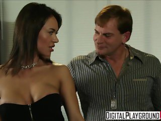 Digital Playground - Dirty assistant Franceska Jaimes fucks her boss on his