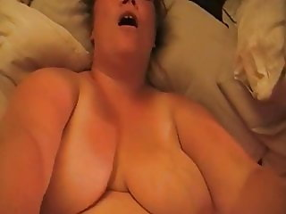 BBW POV Loud Moaning MILF with Big Tits Talks Dirty on Dick