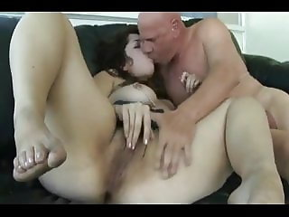 Yummy Chubby Teen with nice legs and feet getting fucked