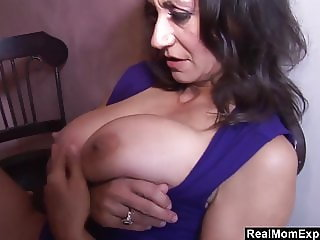 Busty Arab Mom Blows And Fucks The Bartender