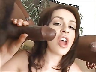 Young Mia ruined by big black cock
