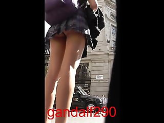 English college girl upskirt