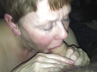 Mature Cock Sucker Swallows