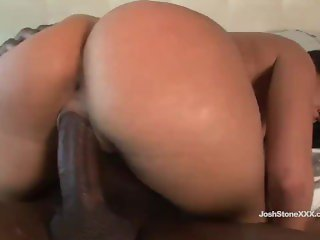 Sexy Brunette Charley Chase Loves Big Black Cock