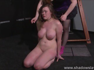 Lesbian Taylor Hearts extreme humiliation and punishment bdsm of young blon