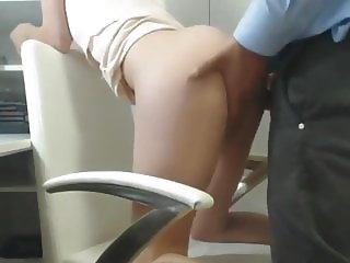 Secretary fucked by the boss