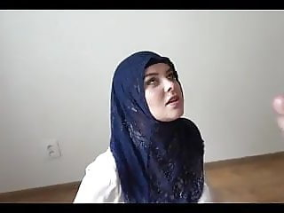 Arab Woman Having Sex in Hijab