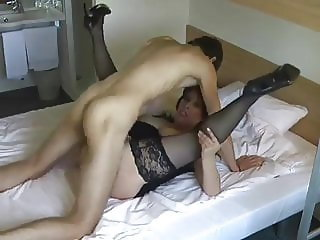 fantastic mom, fucks her son's friend!