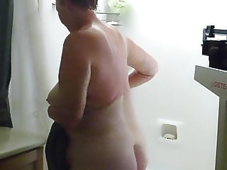 Tina - out of the shower