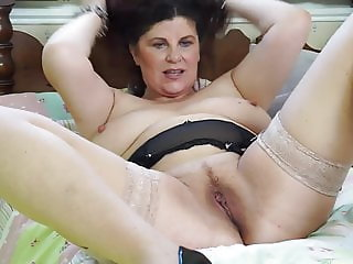 Busty British mom Gilly needs a good fuck