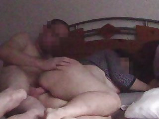 hidden cam - fucking my wifes wet pussy before getting up