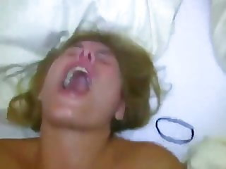 Amateur anal with intense orgasm