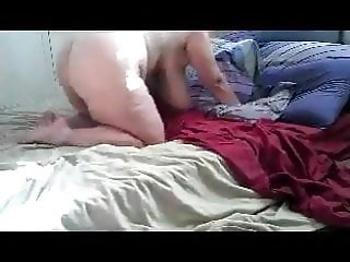 Mature With Monster Saggy Boobs fuck on bet