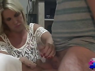 Rubbing cocks together feels awesome
