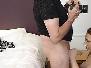 young model, big old cock