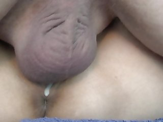 Creampie dripping