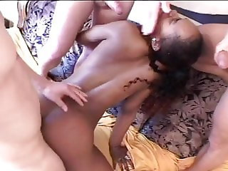 Ebony loves fucking white guys