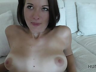 Naughty man made beautiful brunette cheat on her docile BF