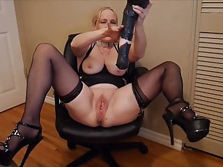 Mommy Loves Horse Cock