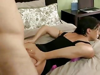 Horny Mom Getting A Good Anal Fuck