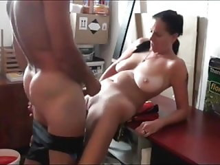 Dad Fucks My Slutty Mom with Saggy Tits