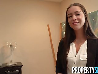PropertySex - Young attractive real estate agent fucking