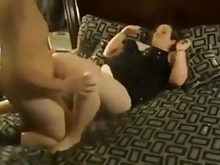 BBw Mif fucking by a Friend in her Bedroom