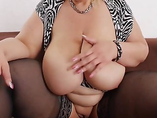 Jessy  Sexy German BBW Strip Tease #1