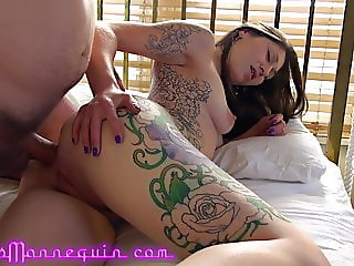 Chastity Leigh's First Fat Cock Anal