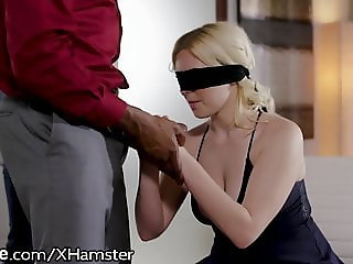 Husband Gives Thick Blonde Wife A Gift! Another Mans BBC!