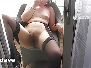Public at sea, balcony, lick and finger pussy, two fingers
