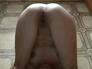 Russian slave self pissing