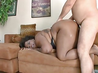 Swiney's Pro-Am scene 138 Ebony BBW Marliese cum shower