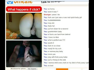 Omegle #10 Hot Girl Shows Ass Tits and Pussy to makes me cum