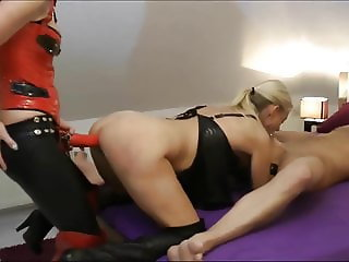 My Wife BJ And sister Fuck Her With a Dildo