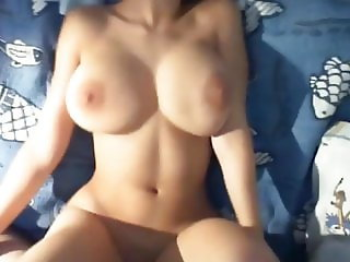 My Unreal Busty StepSister Likes When I Fuck Her Pussy