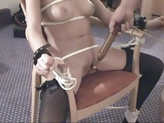chairbound and teased into orgasm