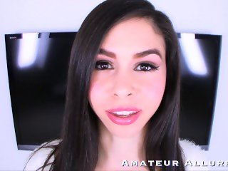 TEENS POV enjoy sucking cock, getting fucked and swallowing cum